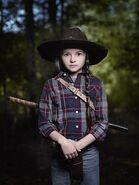 Cailey Fleming as Judith - The Walking Dead Season 9