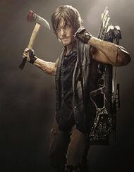 Daryl Dixon durante la cuarta temporada.