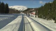 9 56 Hours Train Journey to the Norwegian Arctic Circle, WINTER 1080HD SlowTV