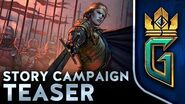 GWENT Thronebreaker TEASER MODO CAMPANHA