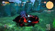 Matando Opinicus (Arquigrifo) - The Witcher 3-Matando Opinicus