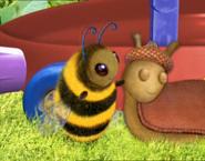 Bee and slug are cute2