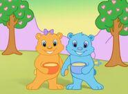 Teddy and Betty Bear