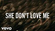 ZAYN - SHE DON'T LOVE ME (Lyric Video)
