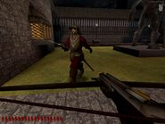 Thievery UT by Black Cat Games - promotional screenshot (crossbow in action 3)