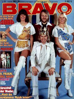 1981-04-02 BRAVO 1 cover ABBA
