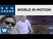 New Order - World In Motion (Official Music Video) -HD Upgrade-