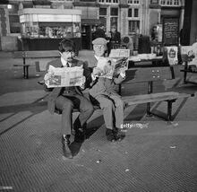 1964-04-12 The beatles Hlep filming.jpg