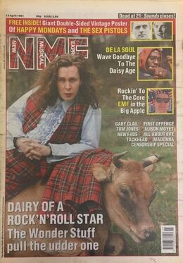 1991-04-13 NME 1 cover
