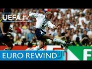 EURO 96' highlights- England 2-0 Scotland