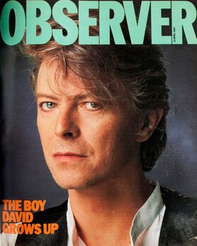 1987-04-12 The Observer 1 Bowie cover