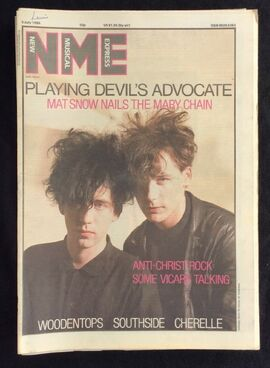 1986-07-05 NME 1 cover