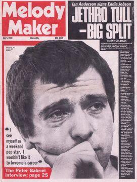 1980-07-05 MM 1 cover Peter Gabriel