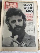 1975-04-12 NME 1 cover Ringo Starr