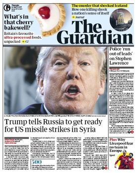 2018-04-12 the Guardian 1 cover