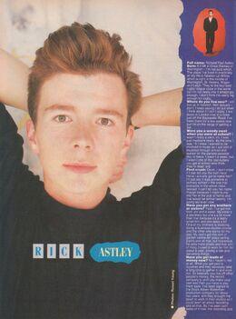 1987-10-07 Smash Hits 32 Rick Astley