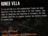 Ruined Villa