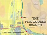Peel Godred-Nebenstrecke