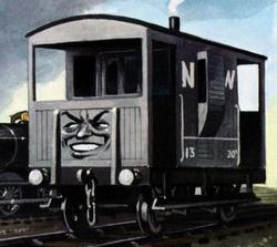 Der gehässigte Bremswagen - Railway Series.png