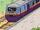 Der Hochgeschwindigkeits-Postzug