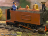 Die Minen Lokomotive