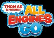Thomas & Friends; All Engines Go! logo