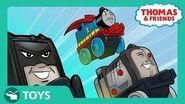 DC Super Friends MINIS Mash Ups Origin Story!