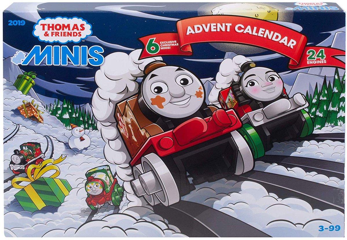 Thomas And Friends Minis 2020 Christmas Minis Advent Calendar (2019) | Thomas and Friends MINIS Wiki | Fandom