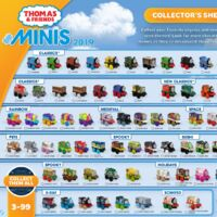 Thomas /& Friends Minis 2019//4 Series #384 Kevin