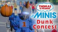Basketball Dunk Contest with Thomas and Friends MINIS