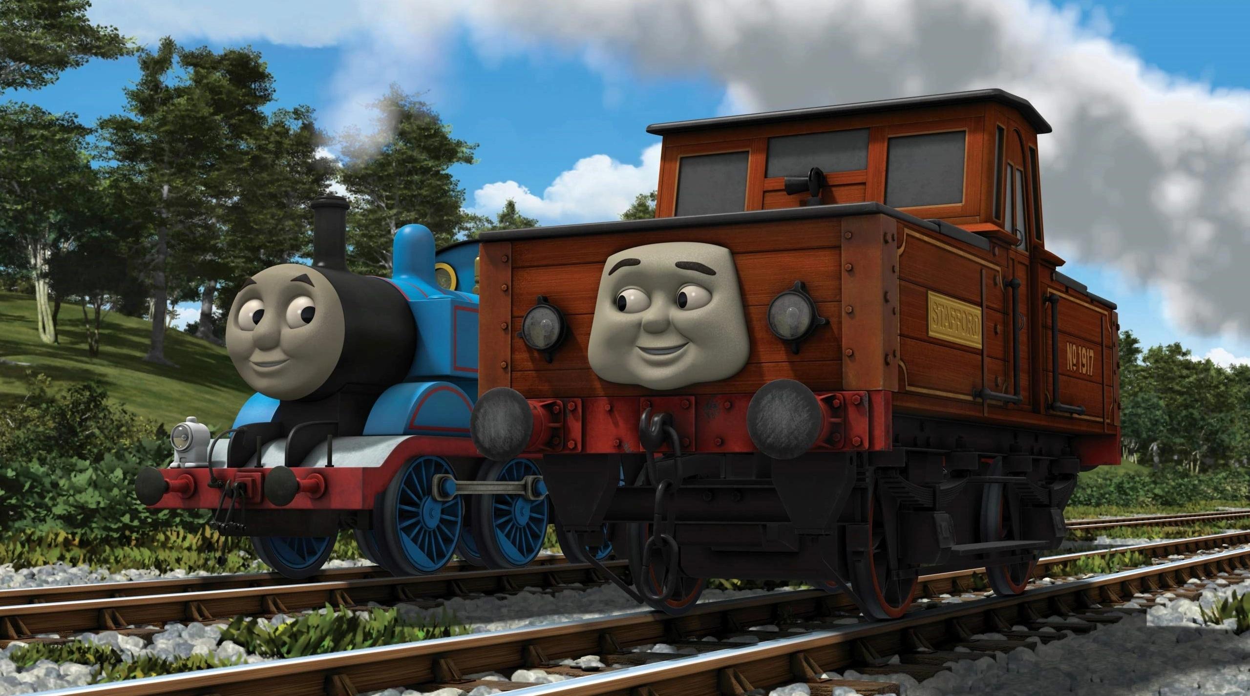 Stafford, la Locomotora de Vapor