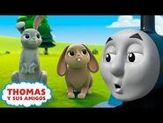 Thomas y Sus Amigos - El festival de primavera en Sodor - Thomas y Percy buscando pistas