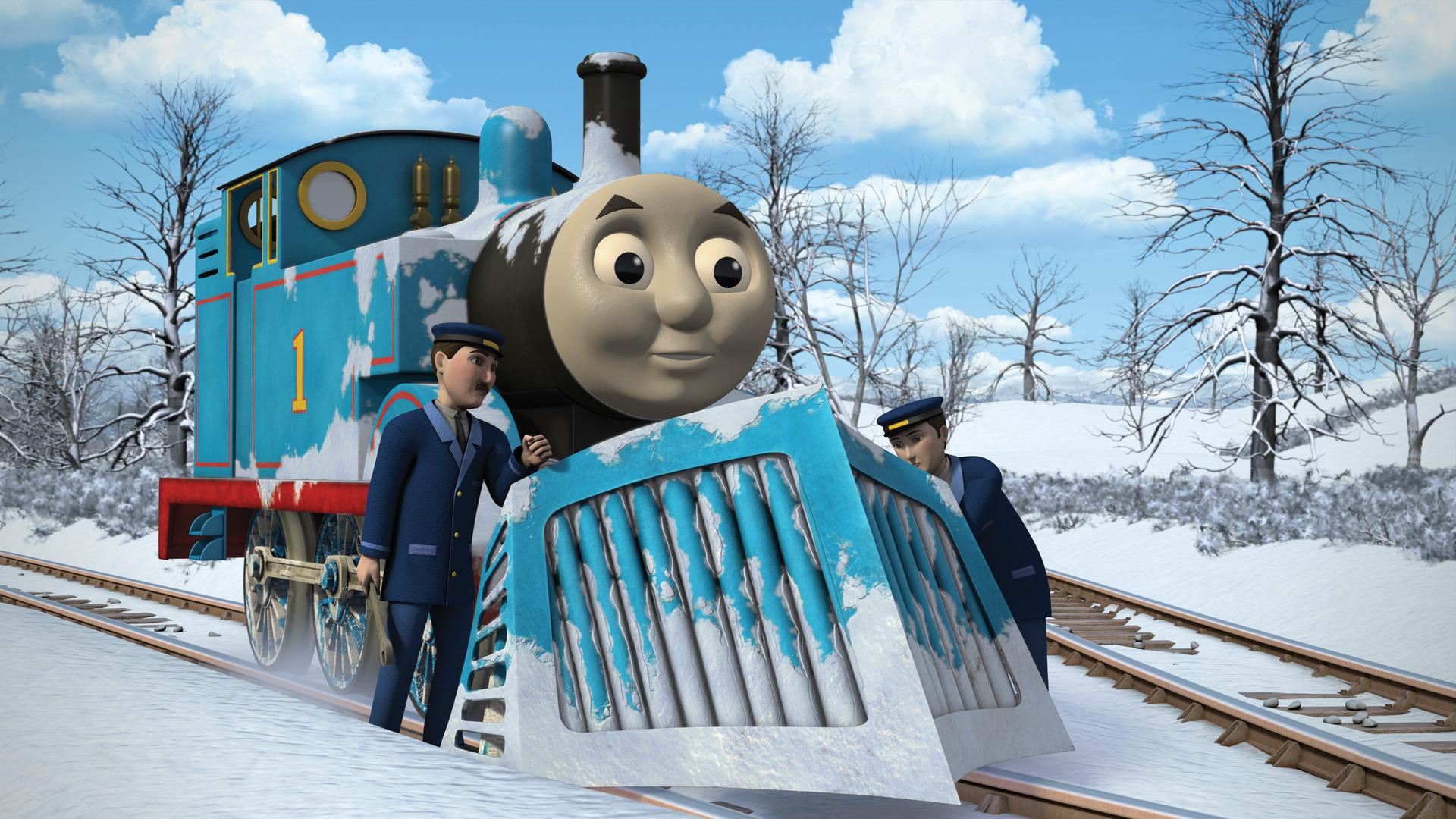 Thomas Se Pierde de la Nieve