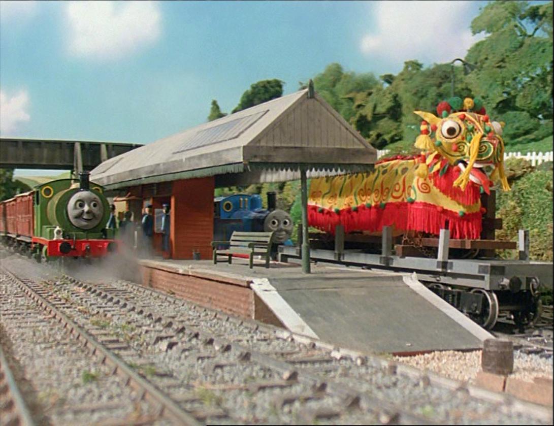 Thomas, Percy y el Dragón