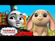 Thomas y Sus Amigos - El festival de primavera en Sodor - Nia persiguiendo a los conejitos