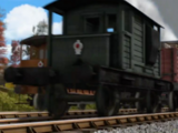 Furgón de Cola de 25 toneladas del SR
