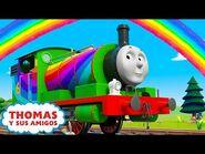 Thomas y Sus Amigos - El festival de primavera en Sodor - El arcoiris sorpresa de Harold y Percy
