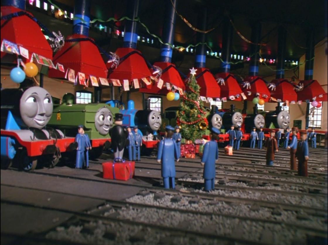 La Aventura Navideña de Thomas y Percy
