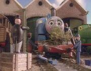 Thomas comes to breackfast