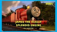 James the Really Splendid Engine - CGI Version - HD