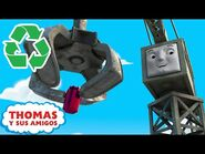 Thomas y Precy aprenden sobre reciclaje - Aprendiendo con Thomas - Thomas y Sus Amigos