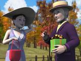El Duque y la Duquesa de Boxford