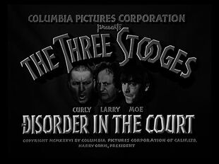 The Three Stooges S03E04 Disorder İn The Court