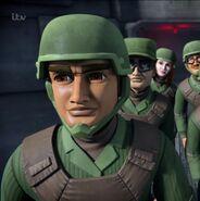 Escape Proof - GDF lieutenant