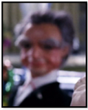 Customer with gray hair