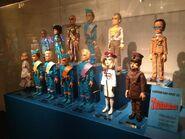 Thunderbirds puppets at London Film Museum