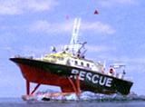 Air-sea rescue boat