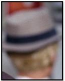 Blonde man in hat