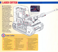 Lazer cutter cutaway