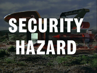 Security Hazard